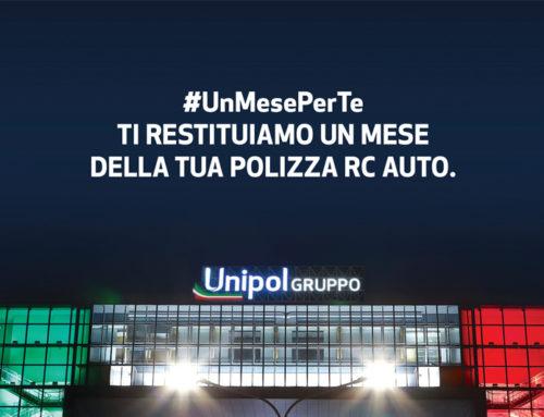 #UnMesePerTe – Unipol restituisce un mese di polizza auto